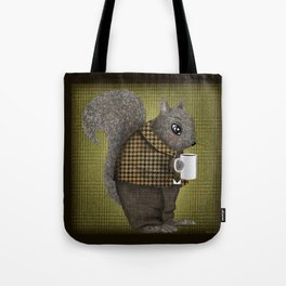 An Early Morning For Mister Squirrel Tote Bag