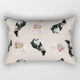 Rex and macaroons pattern Rectangular Pillow