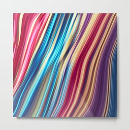 Flowing Colors 2 Metal Print