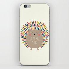 Give Me A Hug iPhone Skin
