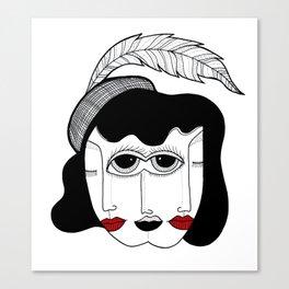 DUPLICITY Canvas Print