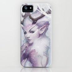 Reindeer Princess iPhone (5, 5s) Slim Case