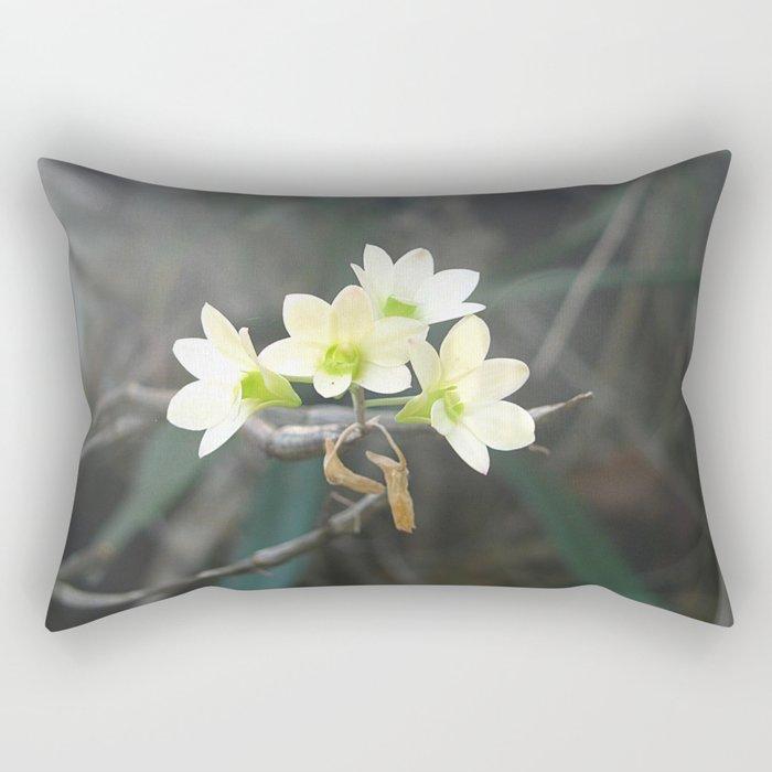 Wild Orchids Rectangular Pillow