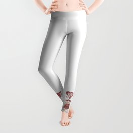 Love is in the air Leggings