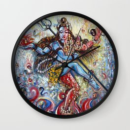 Ardhnarishwar Wall Clock