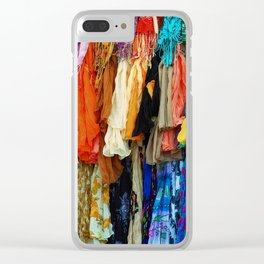 Gypsy Rags and Ruffles Clear iPhone Case