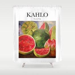 Kahlo - Viva la Vida Shower Curtain