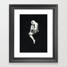 The alignment Framed Art Print