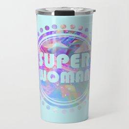 Super woman Travel Mug