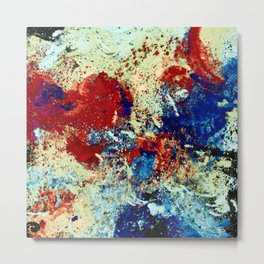 Splash of Raging Colors Metal Print