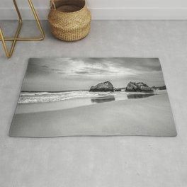 Stone beach Praia da Rocha Rug