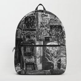 City Life (Black and White) Backpack