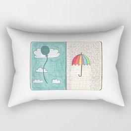 Always trust the weather Rectangular Pillow