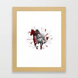 Chino M. Framed Art Print