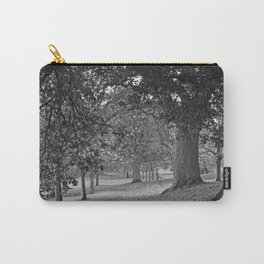 Park Avenue Black and White  Carry-All Pouch
