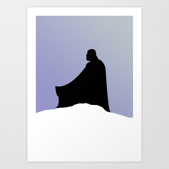 The Empire Strikes Back Art Print