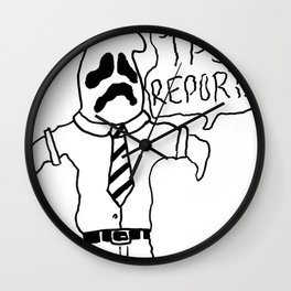 OFFICE GHOST Wall Clock