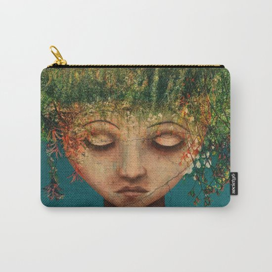 Quietly Wild Carry-All Pouch