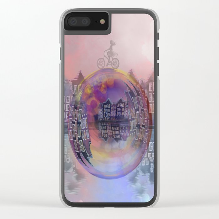 All bubbles are magical Clear iPhone Case