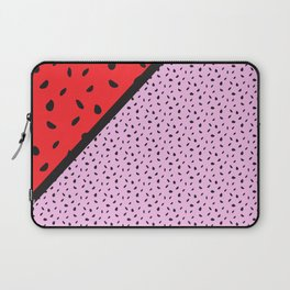 Pips - pink, red, black Laptop Sleeve