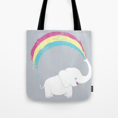 Elephant Painting! Tote Bag