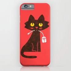 Fitz - Hungry hungry cat (and unfortunate mouse) Slim Case iPhone 6