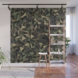 Triangle camouflage Wall Mural