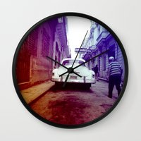 cuba Wall Clocks featuring Cuba 2 by very giorgious