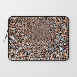 """The Work 3000 Famous and Infamous Faces Collage Laptop Sleeve"