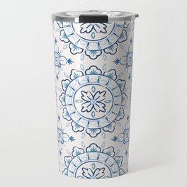 Chantilly - Cobalt Travel Mug