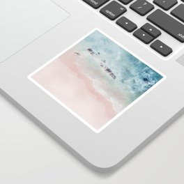 Ocean Pink Blush Sticker