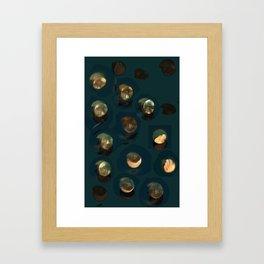 awakened to curiosity Framed Art Print