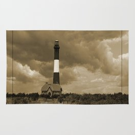 Fire Island Light In Sepia Rug