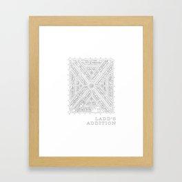 Ladd's Addition Framed Art Print