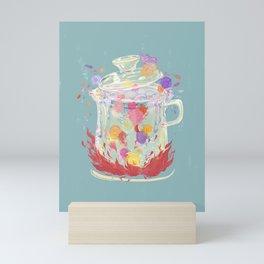 Scented Tea - Nirvana Rebirth of Flowers Mini Art Print