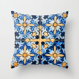 Floral Dream Throw Pillow