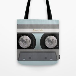 The Moon Mix Tape Tote Bag