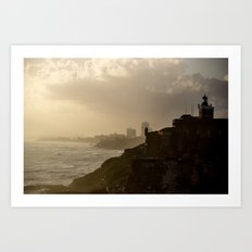 Puerto Rico From Old to New Art Print