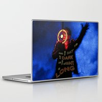 u2 Laptop & iPad Skins featuring U2 / Bono / Baby Light My Way by JR van Kampen