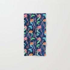 Merry Mermaids in Watercolor Hand & Bath Towel