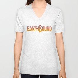 Earthbound Title Screen Unisex V-Neck