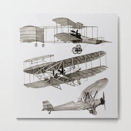 airplanes 3 Metal Print