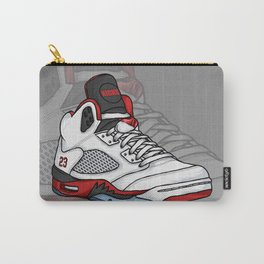 j5-fire reds Carry-All Pouch