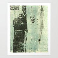 Emmett + Ethel Art Print