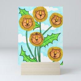 Dandy Lions Mini Art Print