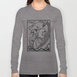 Saint George vs the Dragon Long Sleeve T-shirt