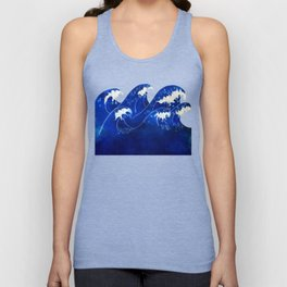 Waves with no sky Unisex Tank Top