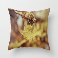 spanish Throw Pillows featuring Spanish moss by  Alexia Miles photography