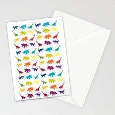 Dino Parade Stationery Cards