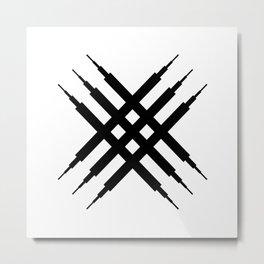 Switch (dark on light) Metal Print